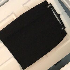 Chaus size 10 black pencil skirt